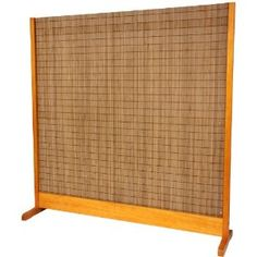 """Solid, Sturdy, Stable Barrier - 76"""" Tall Take Japanese Style Single Panel Partition Room Divider - 3 Colors"""