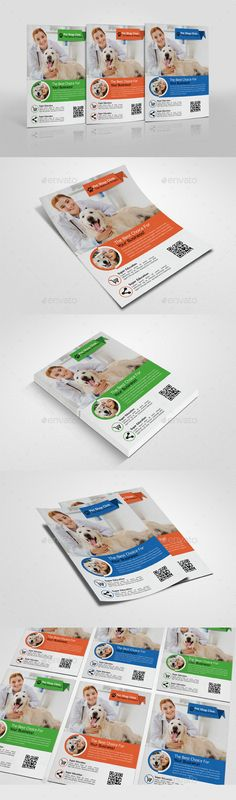 Pets Clinic & Care centre Flyer Template