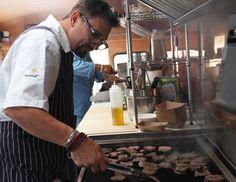 Chris Cosentino's Venison Heart Tartare @offalchris @chef_aaron followed link. AWESUM