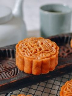These homemade lotus mooncakes are definitely a labor of love, but we think they're worth it. Check out our detailed step-by-step lotus mooncakes recipe for instructions! Bbq Pork, Pork Roast, Salted Egg Yolk, Wok Of Life, Pork Buns, Moon Cake, Chili Oil, Dim Sum, Pork Belly
