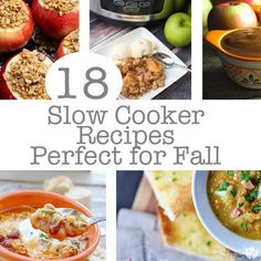 18 Slow Cooker Recipes Perfect for Fall #fallslowcookerrecipes