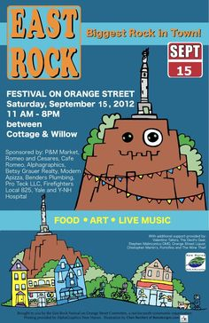 East Rock Festival- Are you coming?  09/15/2012 11AM - 8PM  On Orange Street between Cottage and Willow