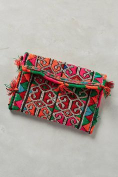 One-of-a-Kind Soukaina Clutch by ART/C #anthrofave #anthropologie