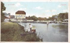Shiplake near Henley-on-Thames, The Mill, old coloured postcard, unposted | eBay