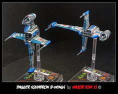 Star Wars X-Wing Miniatures | Dagger Squadron B-Wings