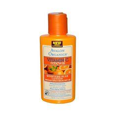 Avalon Organics Vitamin C Renewal Moisture Plus Lotion Spf 15 - 4 Fl Oz