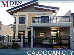 Two Story House Design, 2 Storey House Design, Small House Design, Modern House Design, Modern House Philippines, Manila Philippines, Modern House Plans, Modern Houses, Townhouse Apartments