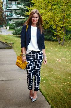 A pair of Gap pants as featured on the blog Born Lippy.