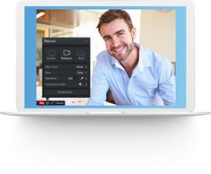 Capture your screen and webcam for personalized client presentations and sales training. Then, enhance your sales videos with the editor. Business Sales, Make Business, Business Marketing, Online Marketing, Sales Skills, Screen Recorder, Visual Communication, Show And Tell, Video Editing