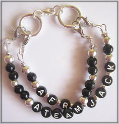 Afrojack Bracelet #Handmade #Afrojack #ATeam
