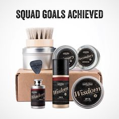 Our Beard Care Kits give you everything you need for beard care AND make your friends jealous. Follow the link in our bio to check out all our Beard Care Kits. #BeardSquad #TheBeardMentor #BeardOilFlasks #Flasks #MadeInAmerica #BeardOil #BeardCare #MoustacheCare #CanYouHandlebar