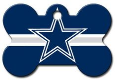 Personalized Dallas Cowboys Bone Dog ID Tag * Check out this great product.