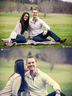 Melissa & Jonathan's December 2015 #engagement #portrait at Natirar!   photo by deanmichaelstudio.com   #njengagement #njportrait #winter #love #dog #photography #DeanMichaelStudio