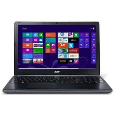 Acer Aspire E1-572-6829 Core i5-4200U Dual-Core 1.6GHz 6GB 1TB DVD±RW 15.6 LED Notebook W8.1 w/Webcam (Black) - B