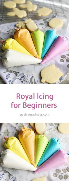 easy royal icing recipe Royal Icing for Beginners Icing Frosting, Cookie Frosting, Cake Icing, Cupcake Cookies, Cookie Icing That Hardens, Royal Frosting, Royal Icing Cakes, Cupcakes, Easy Royal Icing Recipe
