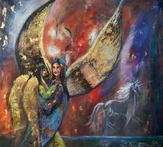 Änglar Painting, Art, Angel