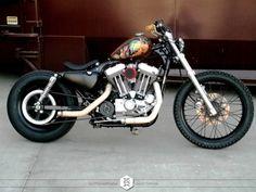 Sportster | Bobber Inspiration - Bobbers and Custom Motorcycles | slypiggens November 2014