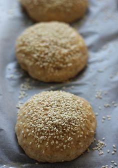 orkiszowe bułeczki maślane Calzone, Hamburger, Pizza, Bread, Food, Brot, Essen, Baking, Burgers