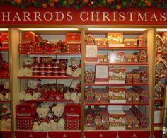 Nadal a Harrods. Harrods Christmas, Christmas World, London Christmas, Christmas Holidays, British Gifts, Big Ben London, London Pictures, Mandarin Oriental, London Food