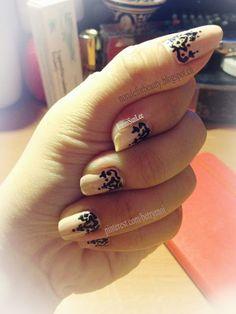 #nail #nails #nailart  Simple & elegant nail art