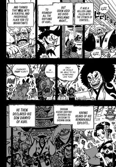 One Piece Chapter 962 One Piece Chapter One Piece Manga Chapter