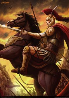 Μέγας Αλέξανδρος // Consolidó la supremacía de Macedonia sobre las demás ciudades estado griegas, conquistó el Imperio Persa; se hizo con un dominio que se extendía por la Hélade, Egipto, Anatolia, Oriente Próximo y Asia Central hasta los ríos Indo y Oxus. Habiendo avanzado hasta la India, donde derrotó al rey Poro en la batalla del Hidaspes (326), la negativa de sus tropas a continuar hacia Oriente le obligó a retornar a Babilonia.