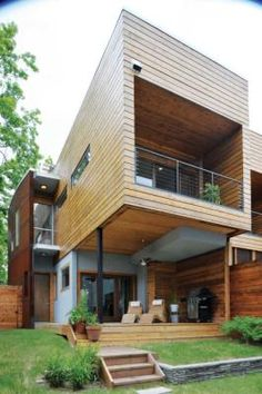 A #LEED Platinum home in Tulsa, OK designed by homeowner Shelby Navarro