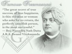 Famous Freemasons: Bro. Narendra Nath Datta A.K.A. Swami Vivekananda