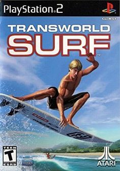 Transworld Surf (Playstation (Pre-Played - Game Only) Juegos Ps2, Transworld Surf, Reef Girls, Professional Surfers, Game Data, Forgotten Realms, Classic Video Games, Playstation Games, Game Sales