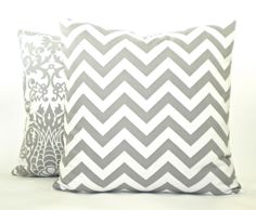 Zig Zag Chevron Decorator Pillow