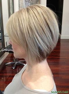 Super short bob hairstyle 2014