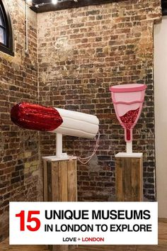 The coolest and most interesting museums to visit in London. Great for London tourists who want to go off the beaten path! Pictured: The Vagina Museum, London Leighton House Museum, Cartoon Museum, North Garden, London Tips, British Garden, Free Museums, Heritage Center, London Museums, I Want To Travel
