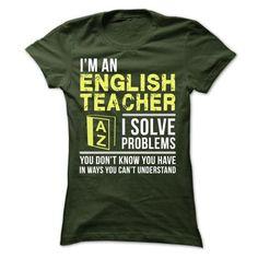 English Teacher - #diy gift #novio gift. ORDER HERE => https://www.sunfrog.com/LifeStyle/English-Teacher-24728903-Ladies.html?68278