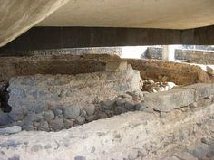 remains of the house where Simon Peter lived in Capernaum