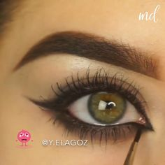 Smoke Eye Makeup, Eye Makeup Steps, Makeup Eye Looks, Eye Makeup Art, Natural Eye Makeup, Eyebrow Makeup, Eyeshadow Makeup, Arab Makeup, Makeup App