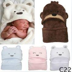 Aliexpress.comの日用雑貨・園芸 から 毛布の中のベビー寝具毛布を睡眠hwp新生児冬服ドレスbabysのサンゴフリースのベビー産着97*72cm暖かい赤ちゃん毛布