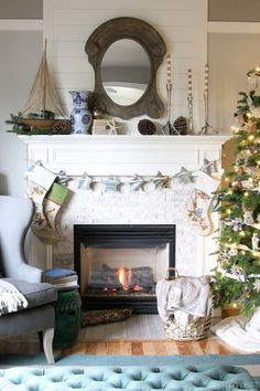 Come on over for my Christmas House Tour! // Forest and Sea Christmas - The Inspired Room