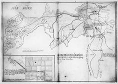 Karta över Alingsås 1730-16