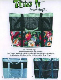 Vinyl Pet Screen Mesh Beach Bags, tote, A Quilting Story Pinterest Ideas, The o jays and Pets