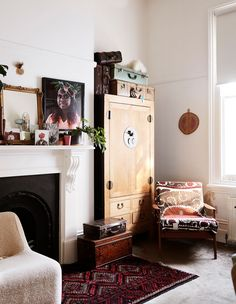 Suitcase Decor, West Home, Boarding House, St Kilda, Beautiful Interiors, Victorian Homes, Home Gifts, Vintage Shops, Living Spaces