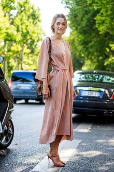 Street style haute couture automne-hiver 2015
