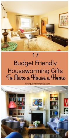 Someone you love moving somewhere new? Here's a list of great housewarming gifts to make their house feel like a home. Read for the full list.