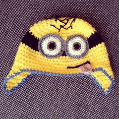 Crochet Minion beanie By Caroline van der Vegt Follow me on Instagram @in old pink