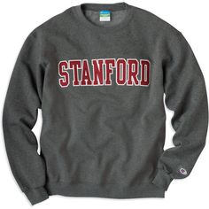 1307F Stanford Crewneck Sweatshirt | Stanford University ❤ liked on Polyvore featuring tops, hoodies, sweatshirts, shirts, sweaters, crew neck shirt, letter shirts, crewneck sweatshirt, crew neck tops and shirts & tops