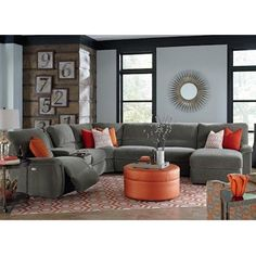 15 best leather reclining sofas images living room sectional rh pinterest com