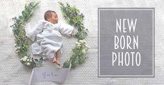 ニューボーンフォトとは欧米では赤ちゃんが産まれるとお知らせのカードをみんなに送…