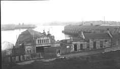 Darling Harbour,Sydney,Wharf #6 in the 1930s.A♥W