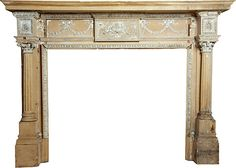 One Kings Lane - State of Graciousness - Antique Architectural Fireplace Mantel