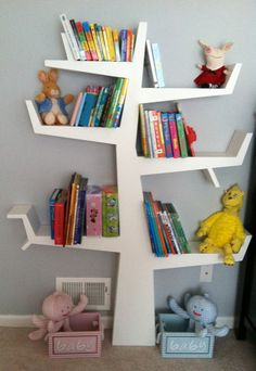 Tree Bookcase by GenuineWW on Etsy, $725.00 Love this one too!!! Have been looking for a good one for a loooong time, only pinning