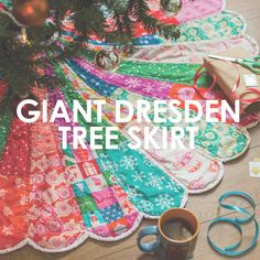 Giant Dresden Christmas Tree Skirt – UpCraft Club